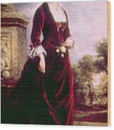 Lucy Ware Webb Hayes 1831-1889, First Wood Print