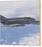 Lufwaffe F-4f Phantom Wood Print