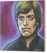 Luke Skywalker Wood Print