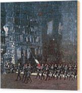 Luks - Blue Devils 1918 Wood Print