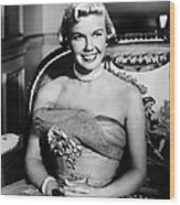 Lullaby Of Broadway, Doris Day, 1951 Wood Print