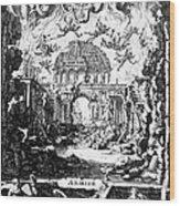 Lully: Armide, 1686 Wood Print