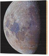 Lunar Colors Wood Print
