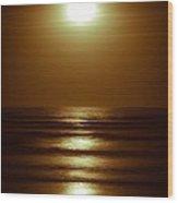 Lunar Tides I Wood Print