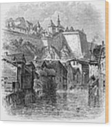 Luxembourg, 19th Century Wood Print