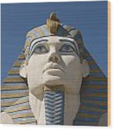 Luxor Sphinx II Wood Print