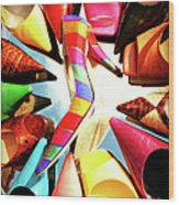 M-m-m My Stilettos Wood Print
