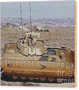 M2 Bradley Fighting Vehicle Wood Print