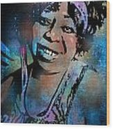 Ma Rainey Wood Print
