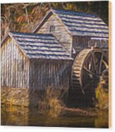 Mabry Mill Wood Print