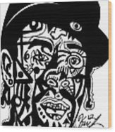 Mac Dre Wood Print