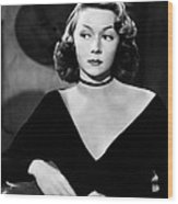 Macao, Gloria Grahame, 1952 Wood Print