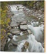 Macdonald Creek Wood Print