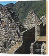 Machu Picchu Peru 8 Wood Print