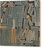Mackenzie Printery 1 Wood Print