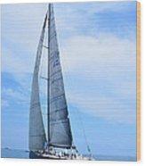 Mackinac Race Wood Print