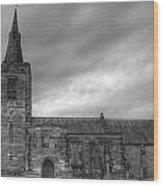 Mackworth Church Wood Print