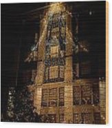 Macy's Ny Christmas Lights Wood Print