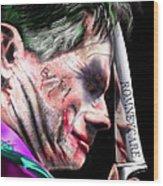 Mad Men Series 2 Of 6 - Romney The Joker Wood Print