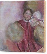 Madame Alexander Cisette Doll Wood Print by Susan Hanlon