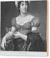 Madame De Sta�l (1766-1817) Wood Print