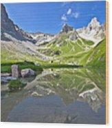 Madautal At Lechtaler Alpen Wood Print