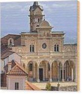 Madonna Del Sasso - Locarno Wood Print