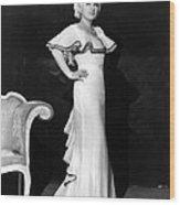 Mae West, Ca. 1930s Wood Print by Everett