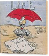 Magazine: Life, 1897 Wood Print