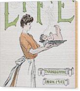 Magazine: Life, 1903 Wood Print