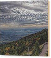 Magic Autumn Morning Wood Print by Daniel Lowe