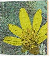 Magic Fern Flower 02 Wood Print