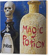 Magic Potion Wood Print