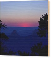 Magical Evening - Grand Canyon Wood Print