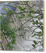 Magical Falls H Wood Print