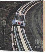 Maglev Train, Japan Wood Print