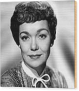 Magnificent Obsession, Jane Wyman, 1954 Wood Print by Everett