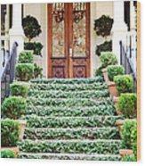 Magnolia Hall Savannah Georgia Wood Print