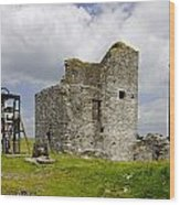 Magpie Mine - Sheldon In Derbyshire Wood Print