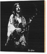 Mahogany Rush 4-14-78 Wood Print