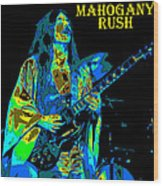 Mahogany Rush Seattle 1978 B Wood Print