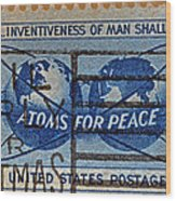 Mail Early For Christmas And Peace Wood Print