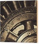 Main Generator Wheel Wood Print
