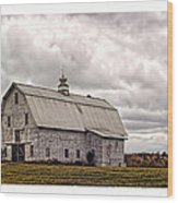 Maine Vacancy Wood Print