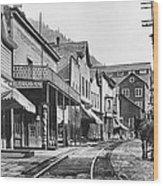 Mainstreet Burke Ghost Town - Idaho Wood Print
