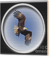 Majestic Flight Wood Print