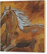 Majestic Freedom IIi Wood Print