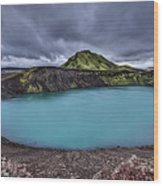 Majesty Of The Lake Wood Print