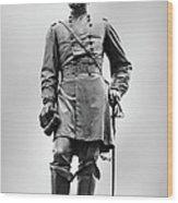 Major General John Reynolds Statue At Gettysburg Wood Print by Randy Steele