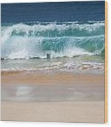 Makena Waves Wood Print